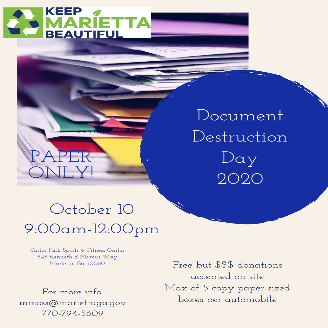 KMB Fall Document Destruction Day