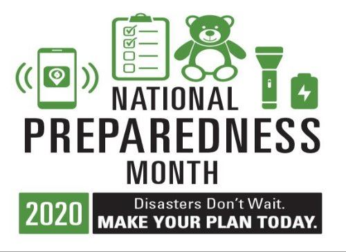 National  Preparedness Month 2020