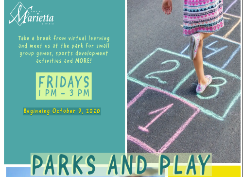 Parks and Play. Flyer