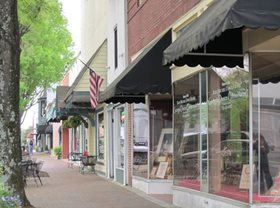 Downtown Business District storefronts
