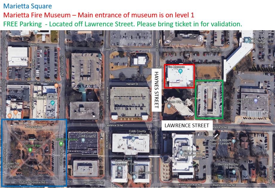 Museum Parking Info for Website