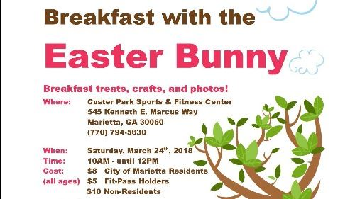 Breakfast with the Easter Bunny Flyer-2018