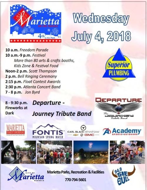 2018 4TH OF JULY FLYER