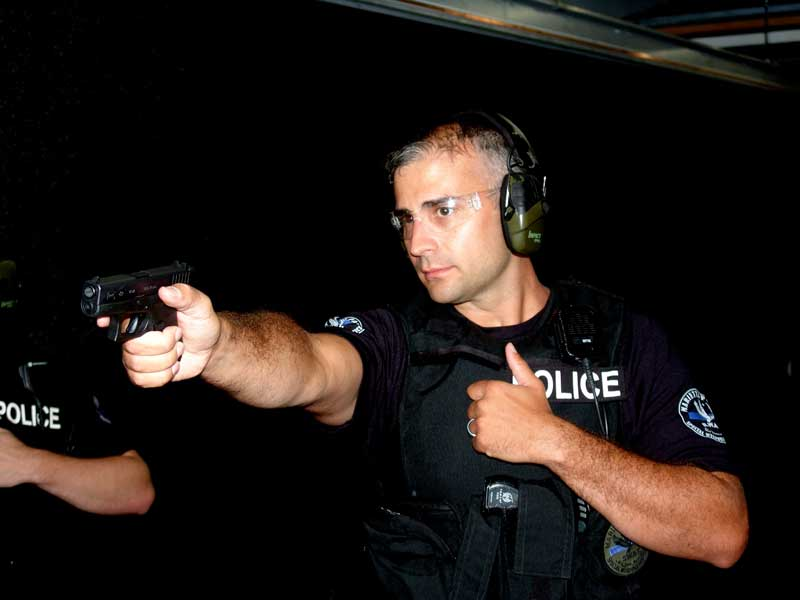 Commander of MPD SWAT Lt. Jake King