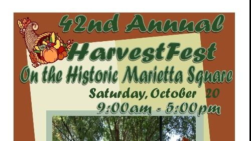 Harvest Square 2018 flyer