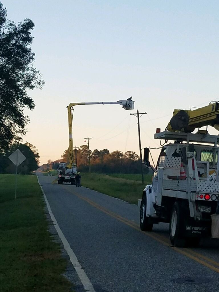 MP crews restoring power Crisp County-Cordele GA-10-2018