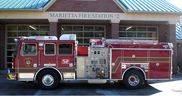 2008 KME Custom Pumper
