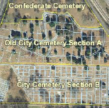 City Cemetery Map