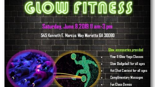 Official Glow Fitness Flyer