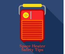 space heater safety tips square