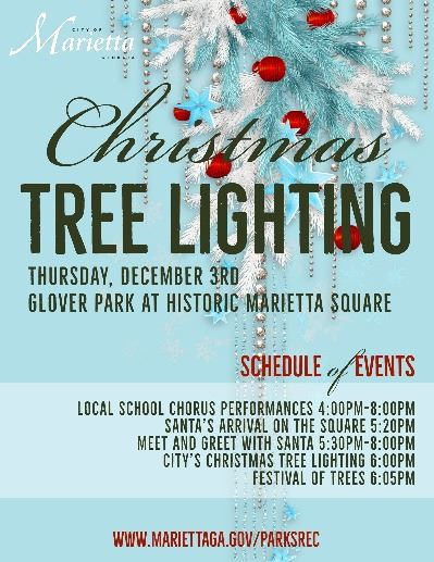 Tree Lighting Flyer 2020