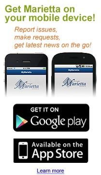MyMarietta - the city's new mobile app