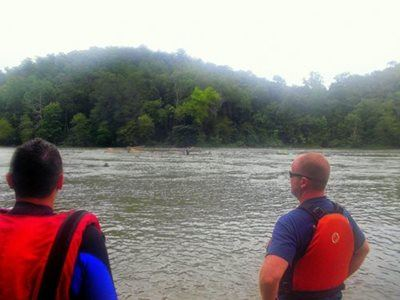 Training on the Chattahoochee River