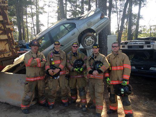 Extrication Training Group Photo