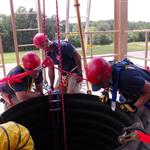Confined Space Training With Tunnel in the Ground