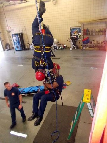 Rope Rescue Class - Practice Pick-Off Maneuvers